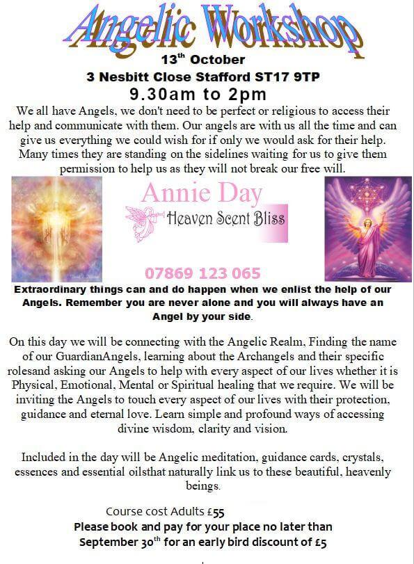 Angelic-Workshop Poster